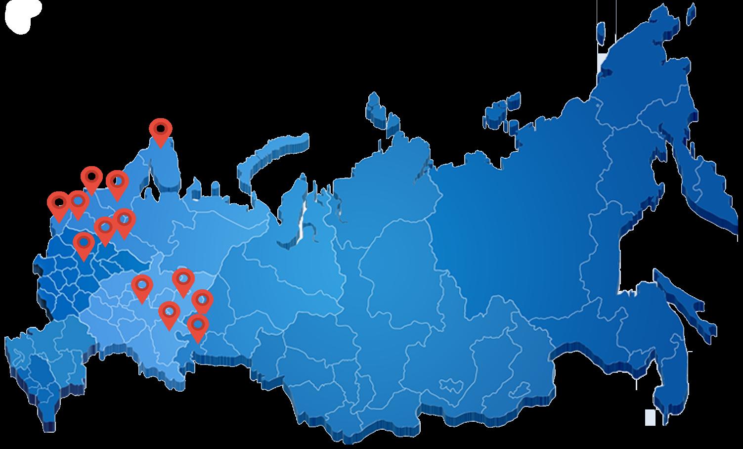 карта филий